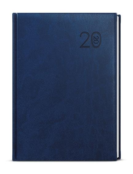 Denní diář - Ctirad - vivella - A5 - modrá 2019