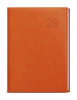 Denní diář - David - vivella - A5 - oranžová