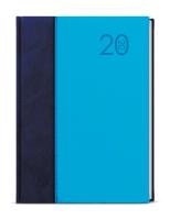 Denní diář - David - kombi - A5 - modro-modrá