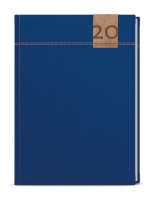Denní diář - David - denim - A5 - modrá