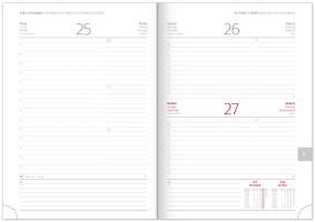 Denní diář Aprint 2020, červený