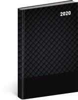 Denní diář Cambio Classic 2020, černý