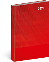 Denní diář Cambio Classic 2020, červený