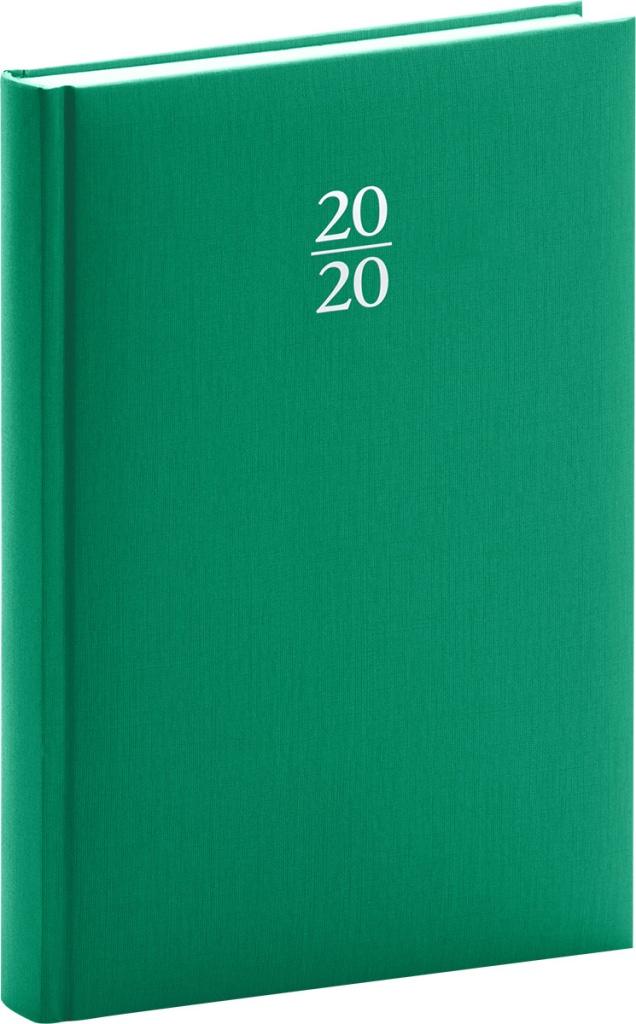 Denní diář Capys 2020, zelený 2019