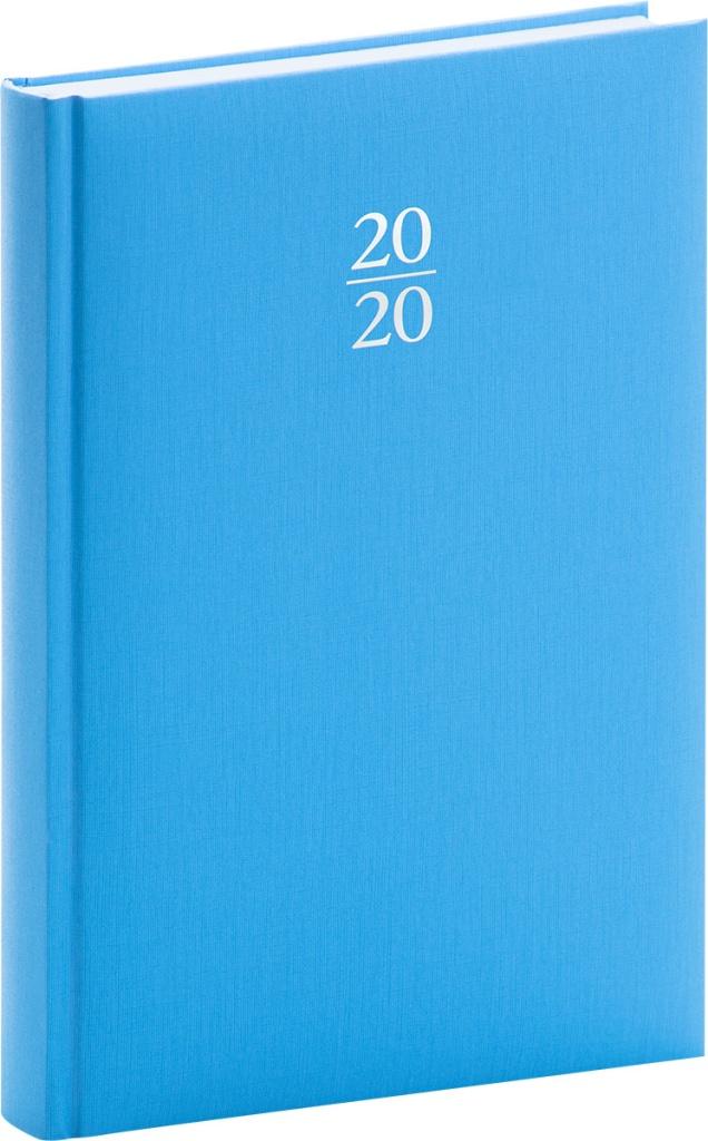 Denní diář Capys 2020, světle modrý 2019