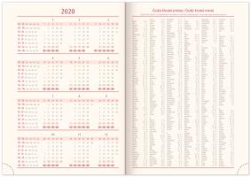 Denní diář Vivella Speciál 2020, mandala