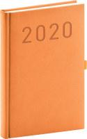 Denní diář Vivella Fun 2020, oranžový