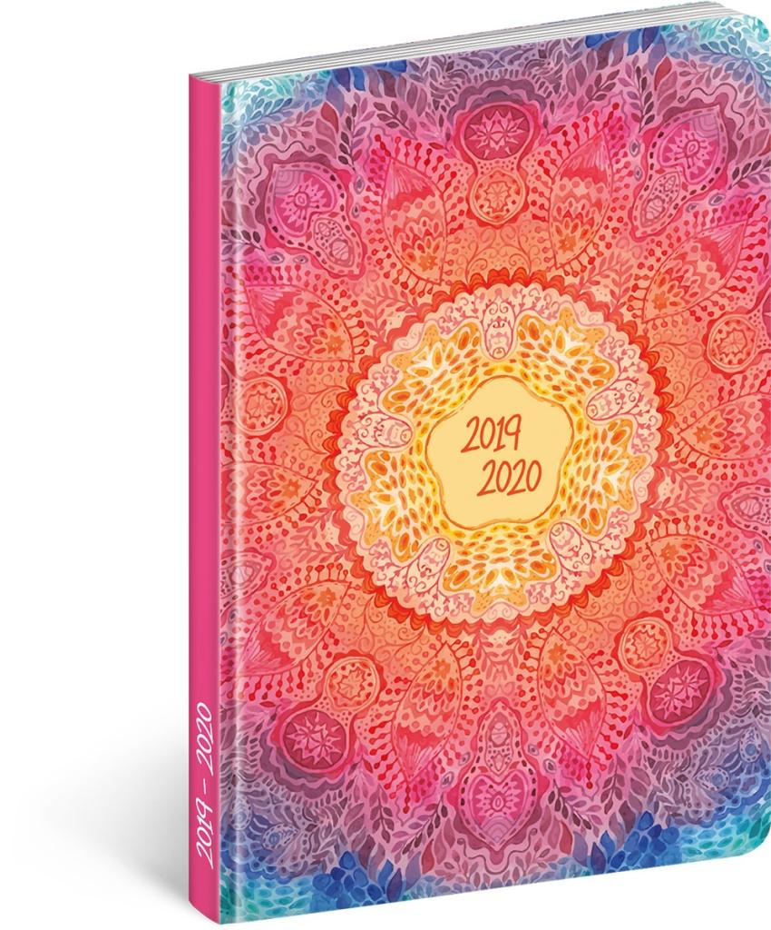 18měsíční diář Petito - Mandala 2019/2020 2019