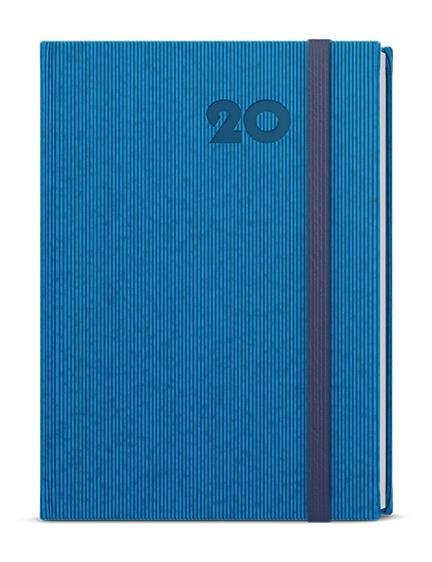 Týdenní diář - Oskar - vigo - A5 - modrá 2019