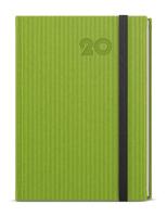 Týdenní diář - Oskar - vigo - A5 - zelená