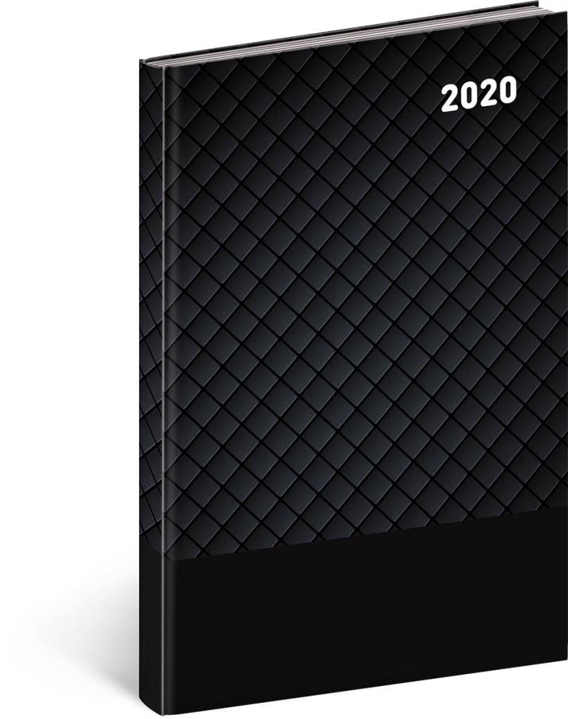 Týdenní diář Cambio Classic 2020, černý 2019