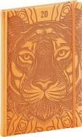 Týdenní diář Vivella Speciál 2020, tygr