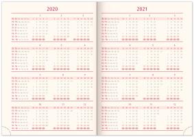 Týdenní diář Tarbes 2020, stříbrný