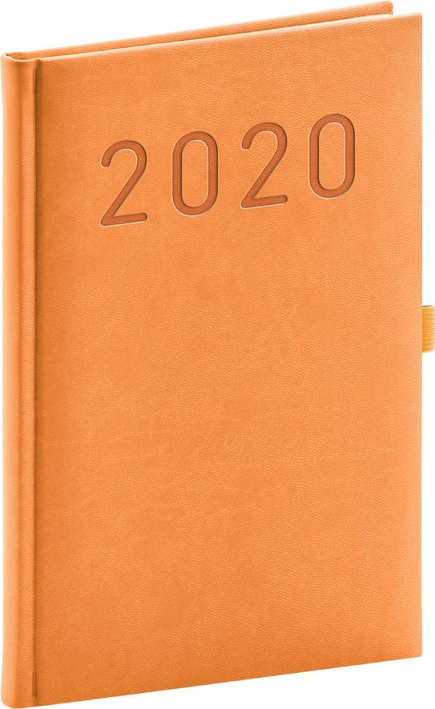 Týdenní diář Vivella Fun 2020, oranžový 2019