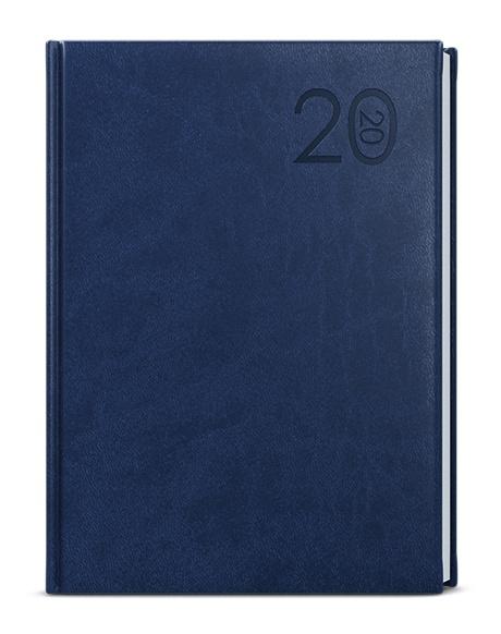 Denní diář - Goliáš - vivella - A4 - modrá 2019