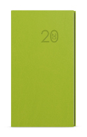 Týdenní diář - Jakub -  vivella - kapesní - zelená