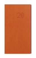 Týdenní diář - Jakub -  vivella - kapesní - oranžová