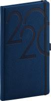 Kapesní diář Ajax 2020, modrý