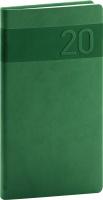 Kapesní diář Aprint 2020, zelený