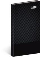 Kapesní diář Cambio Classic 2020, černý