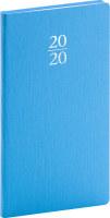 Kapesní diář Capys 2020, světle modrý