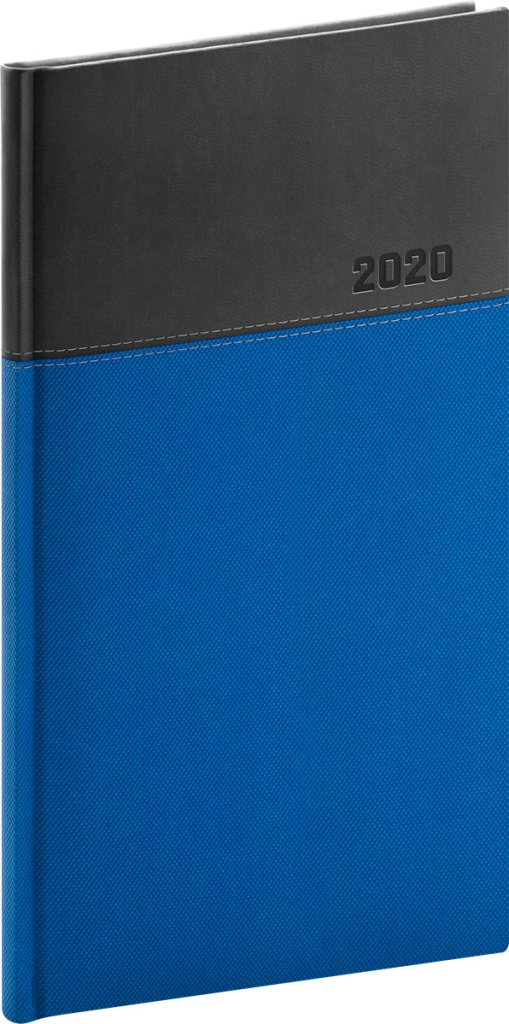 Kapesní diář Dado 2020, modročerný 2019