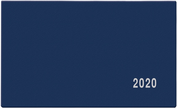 Měsíční diář PVC V1- Marika 2019