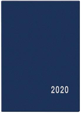 Měsíční diář - Anežka - PVC - modrá 2019