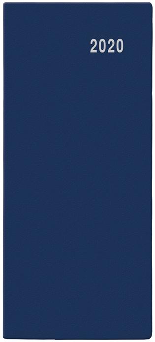 Měsíční diář - Božka - PVC - modrá 2019