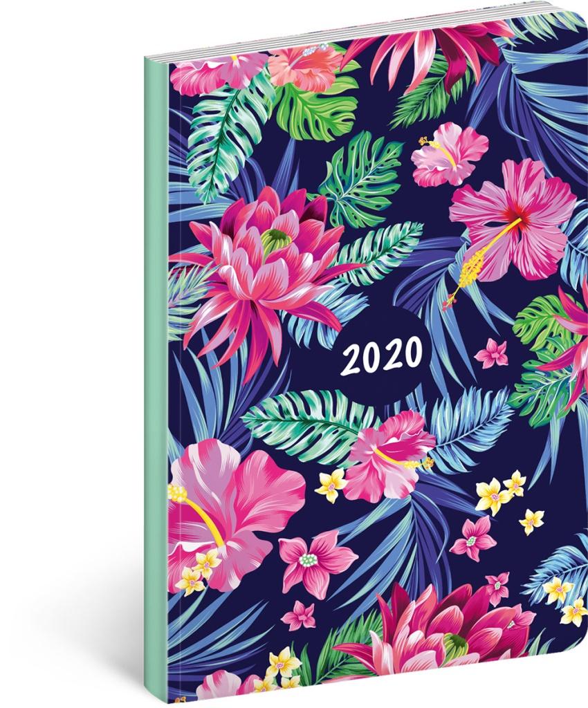 Ultralehký diář Květiny 2020 2019