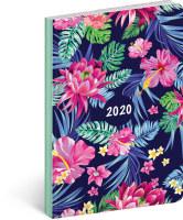 Ultralehký diář Květiny 2020