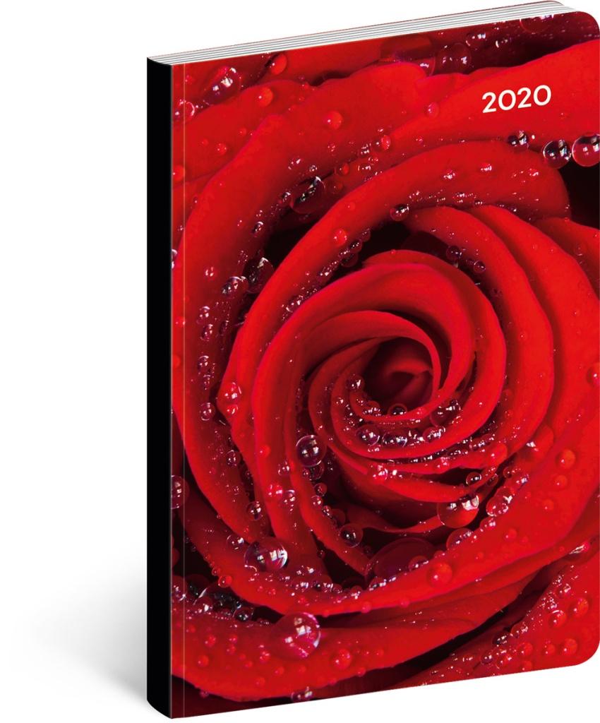 Ultralehký diář Růže 2020 2019