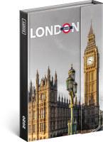 Týdenní magnetický diář Londýn 2020