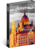 Týdenní magnetický diář Budapešť 2020