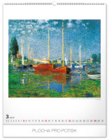 Nástěnný kalendář- Jan Kaplický