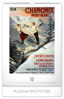 Nástěnný kalendář- Alfons Mucha