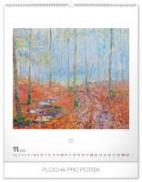 Nástěnný kalendář- Gustav Klimt