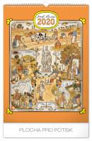 Nástěnný kalendář- Claude Monet