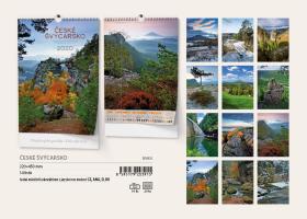 Nástěnný kalendář A3- Hory