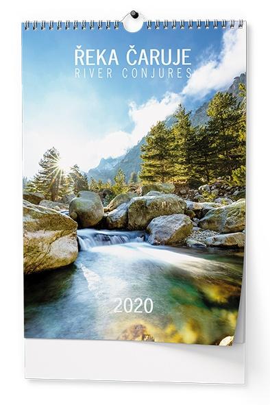 Nástěnný kalendář A3- Toulky přírodou 2019