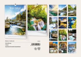 Nástěnný kalendář A3- Toulky přírodou