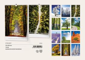 Nástěnný kalendář A3- Stromy