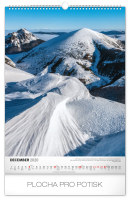 Nástěnný kalendář- Národní parky