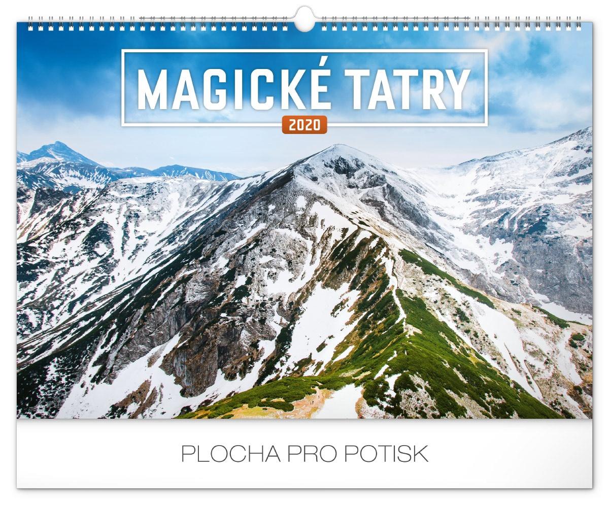 Nástěnný kalendář- Tatry 2019