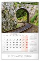 Nástěnný kalendář- Hory