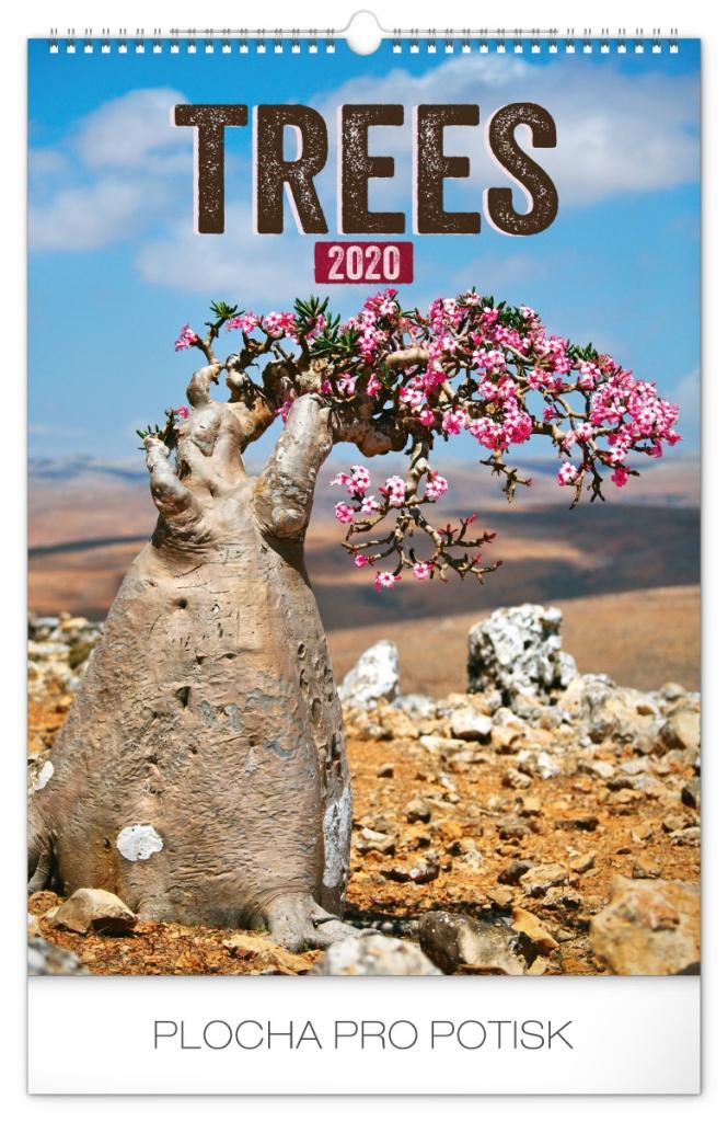 Nástěnný kalendář Stromy 2020 2019