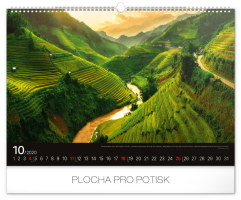 Nástěnný kalendář- Cesty