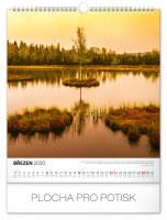 Nástěnný kalendář- Krajiny