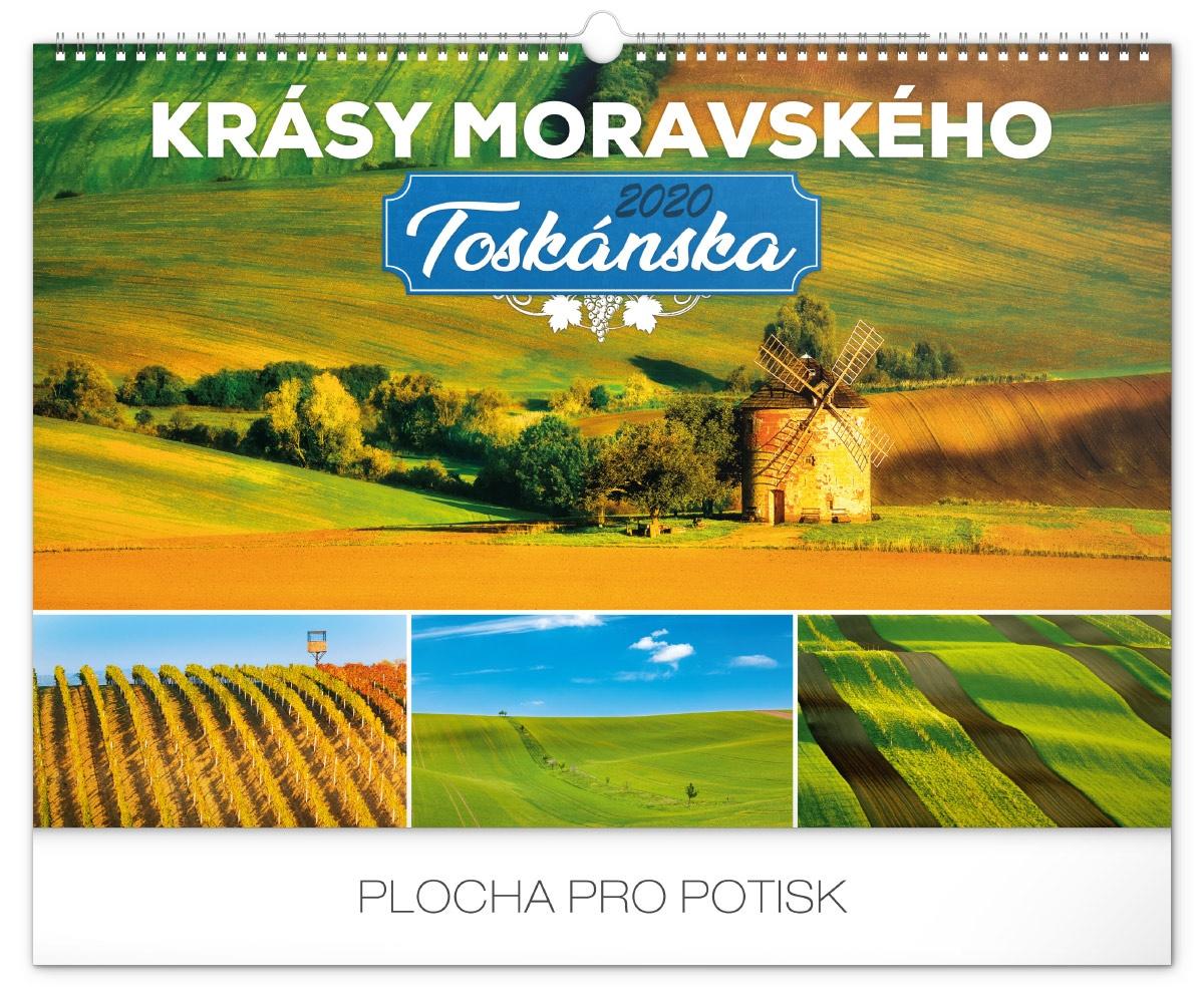 Nástěnný kalendář- Toulky českou krajinou 2019