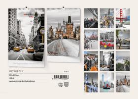 Nástěnný kalendář- Panorama
